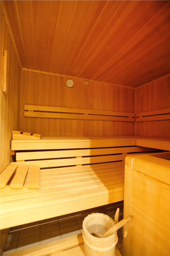 Sauna/Sanarium Innenansicht